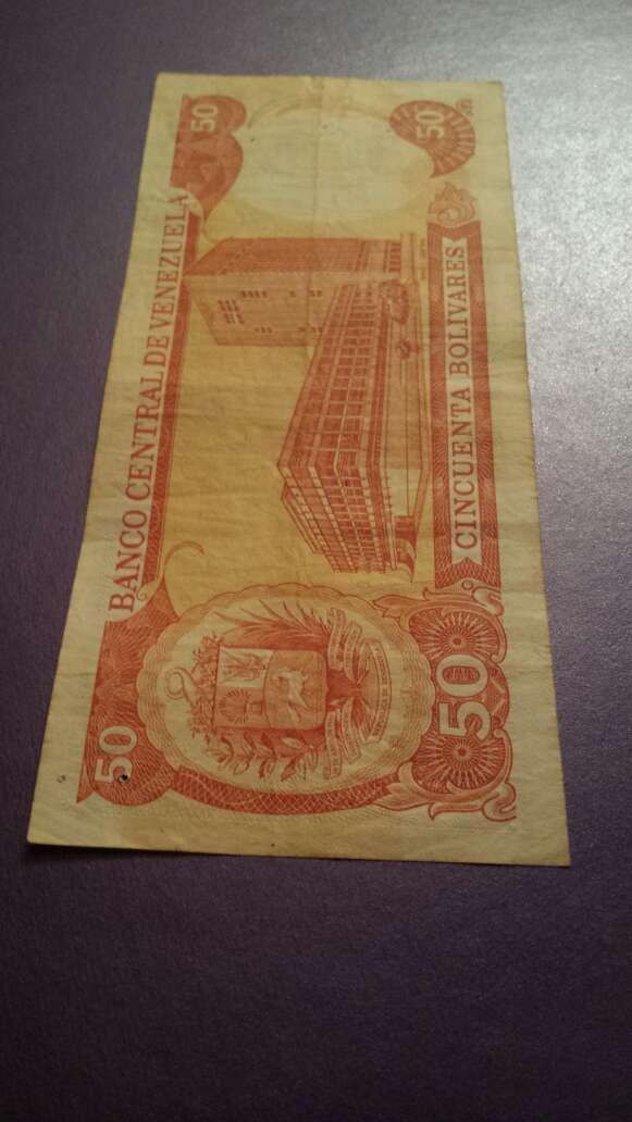Imagen producto Billete del 98 de 50 bolívares  4