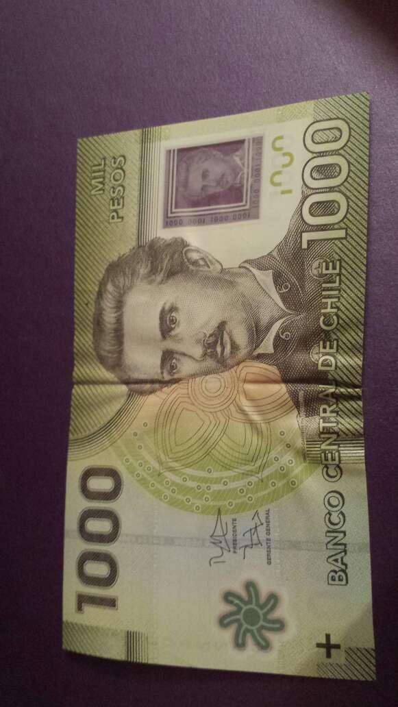 Imagen 1000 pesos chile