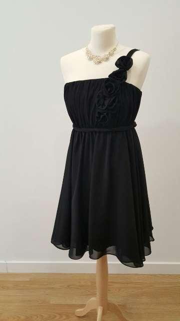 Imagen producto Vestido corto de fiesta negro nuevo 1