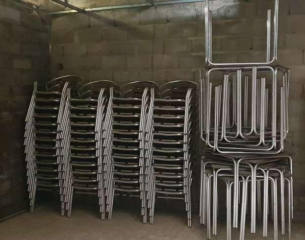 Imagen producto Sillas y mesa de terraza aluminiio  1