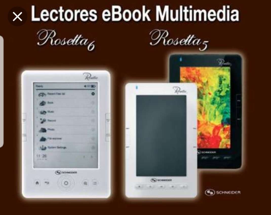 Imagen producto Nuevos libros electrónicos por 35€ 4