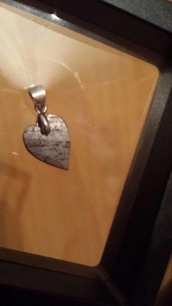 Imagen producto Corazón meteorito seymchan pequeño  2