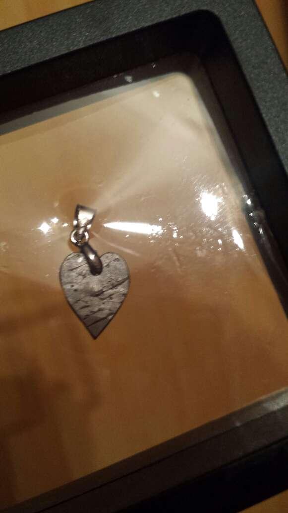 Imagen corazón meteorito seymchan pequeño