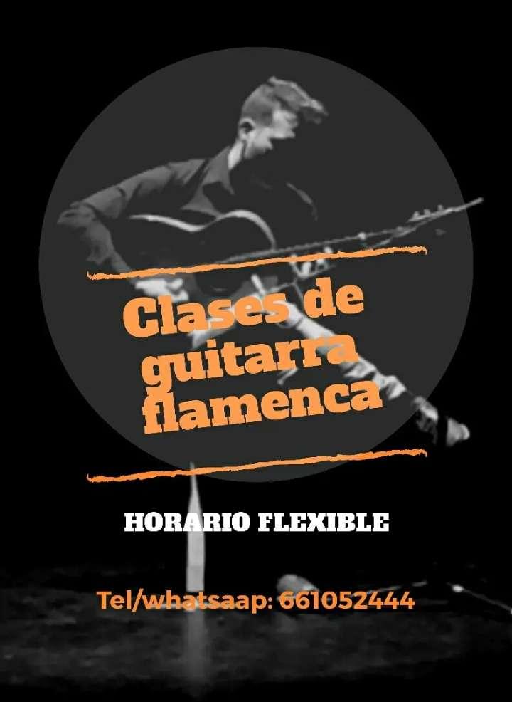 Imagen producto Clases de guitarra flamenca 1
