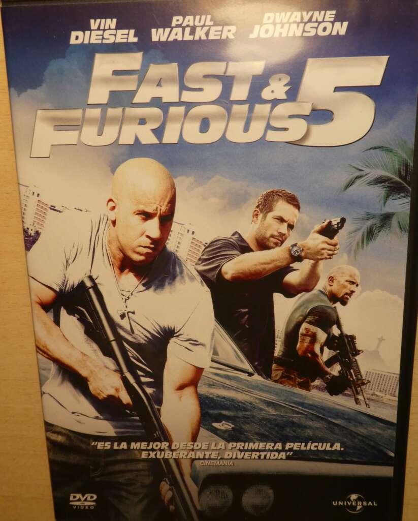 Imagen producto Colección Fast & Furious (DVD). 5