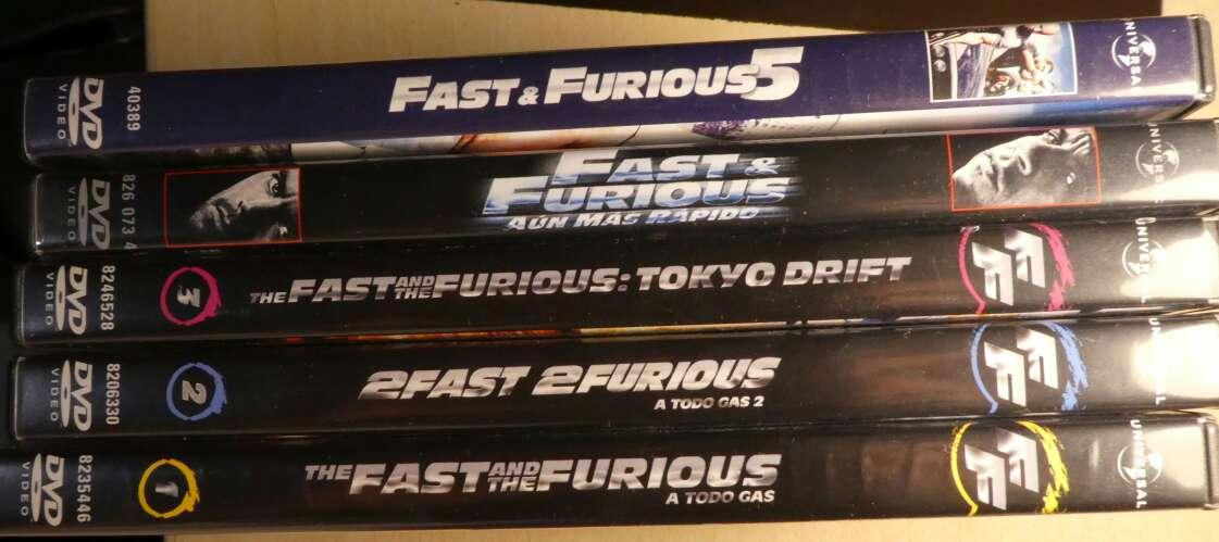Imagen producto Colección Fast & Furious (DVD). 6