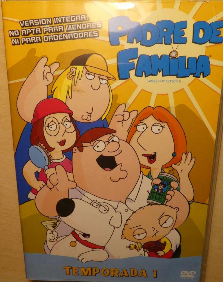 Imagen producto Padre de familia 1a temporada (DVD). 1