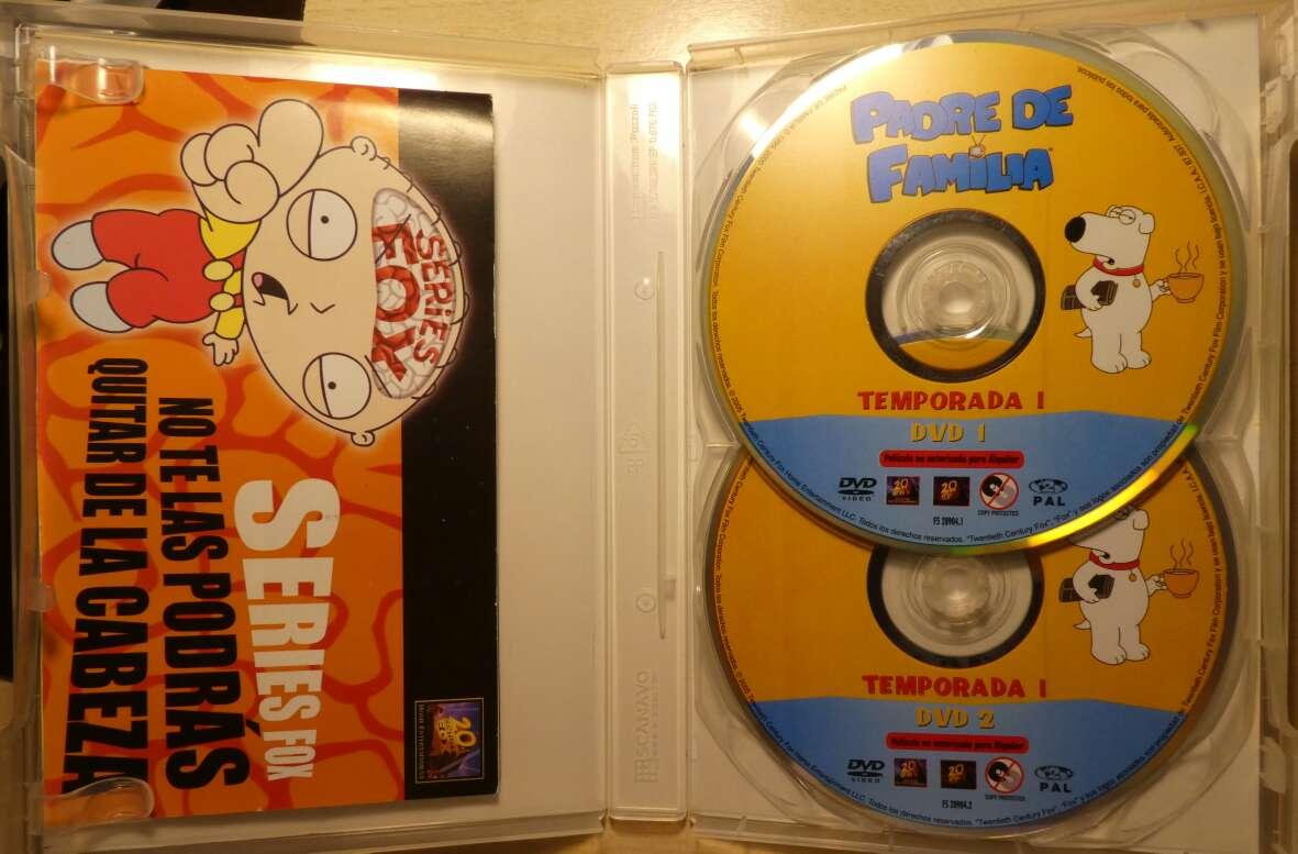 Imagen producto Padre de familia 1a temporada (DVD). 2