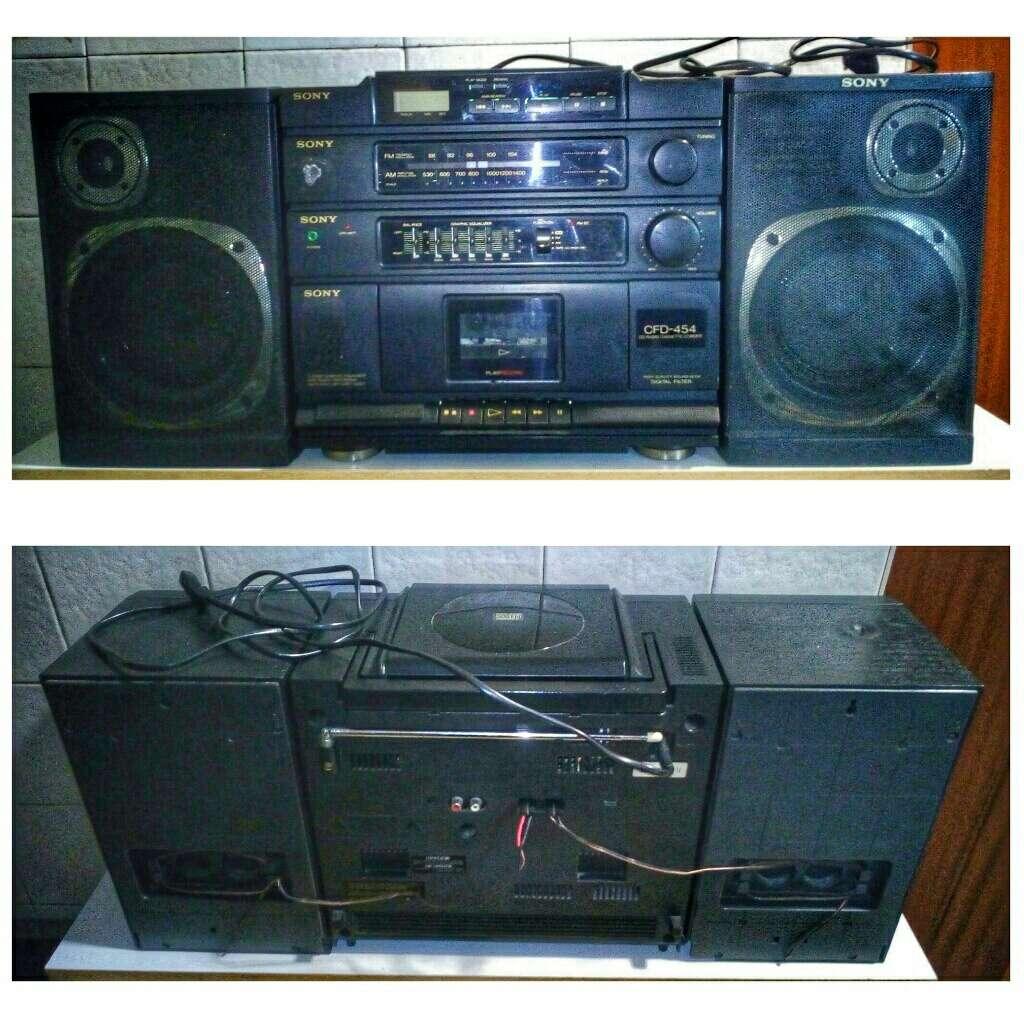 Imagen Sony CD Radio Cassete-Corder (1990)