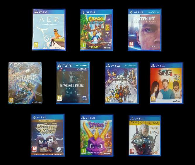 Imagen PS4 Juegos seminuevos