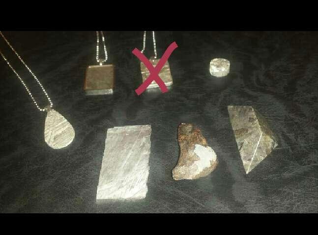 Imagen producto Lote meteoritos grande variado  4