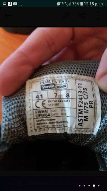Imagen producto Zapato de trabajó  3