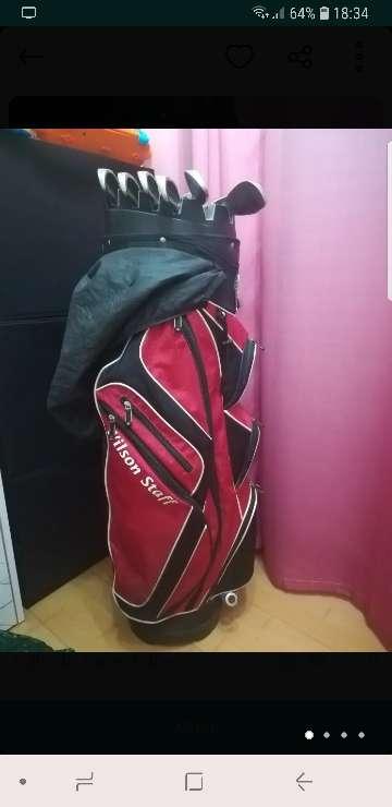 Imagen palos de golf