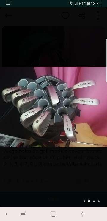 Imagen producto Palos de golf 2