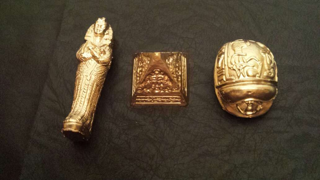 Imagen Figuras egipcias de adorno