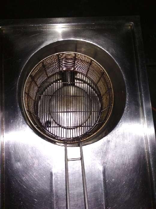 Imagen freidora nodular industrial a gas