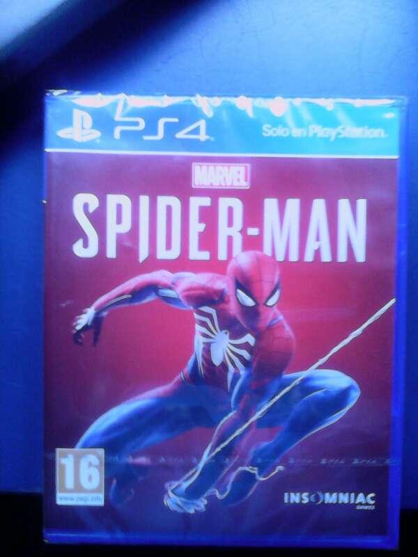 Imagen Spiderman para PS4 nuevo