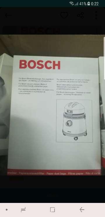Imagen bolsas aspirador Bosch
