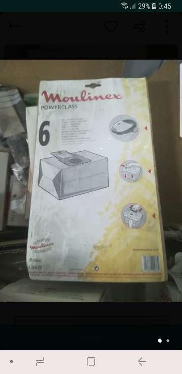 Imagen bolsa aspirador moulinex