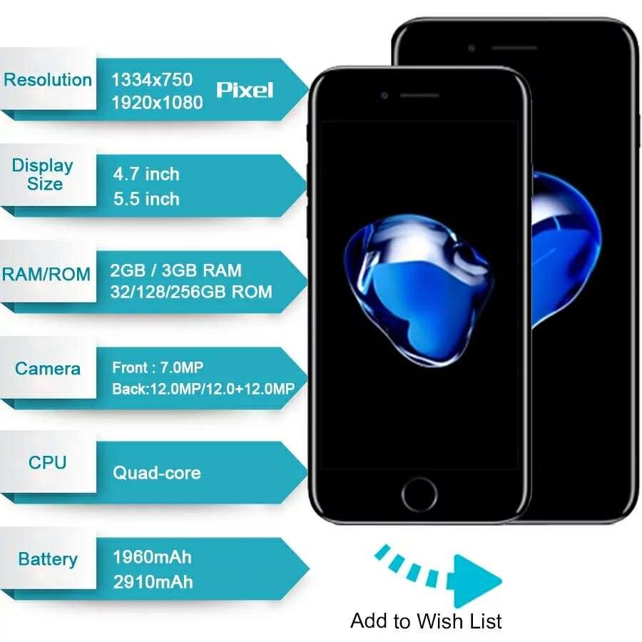 Imagen producto IPhone 7 Plus de 256 GB originales 2