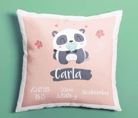 Imagen producto Cojín oso panda bebe 1