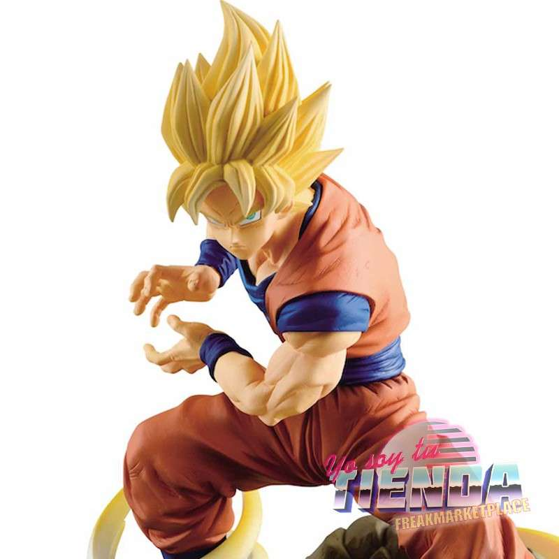 Imagen Figura Banpresto Dragon Ball, Son Goku, Super Saiyan Absolute Perfection, 15 CM