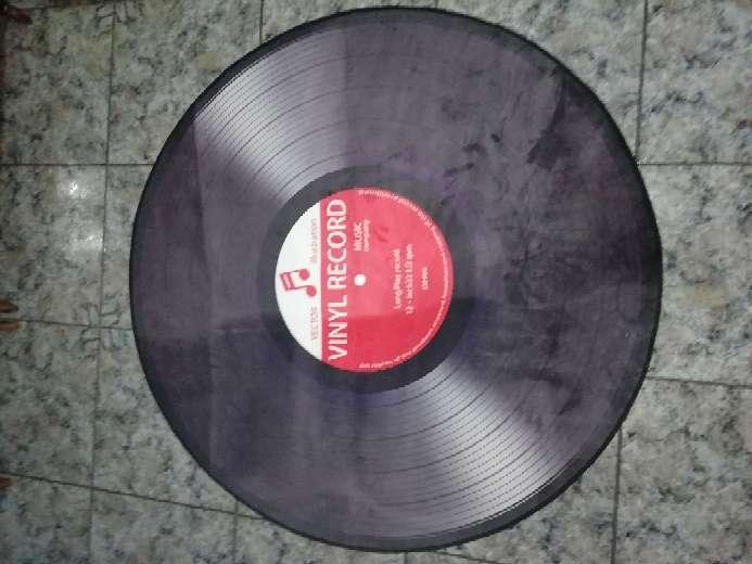 Imagen alfombra vinilo, 120 cm de diametro