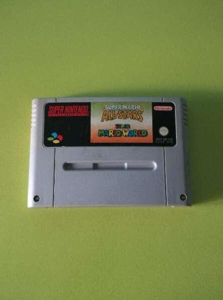 Imagen producto Super Mario All Stars+Super Mario World 1