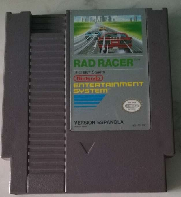 Imagen producto Rad Racer Nes 1