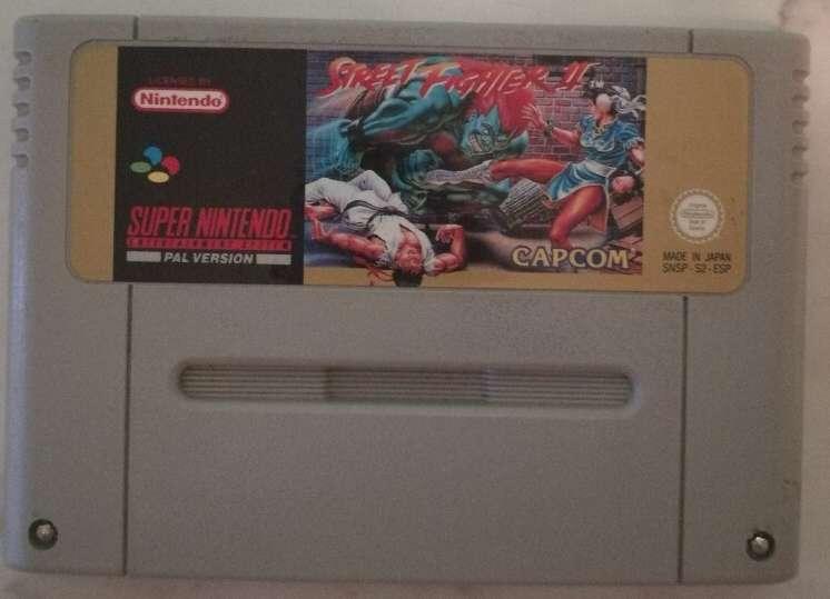 Imagen Street Fighter II snes