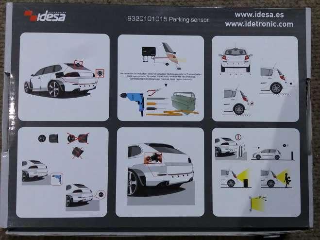 Imagen producto Kit Sensor de Aparcamiento ide tronic nuevo. 4