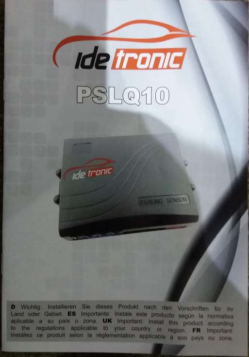 Imagen producto Kit Sensor de Aparcamiento ide tronic nuevo. 2
