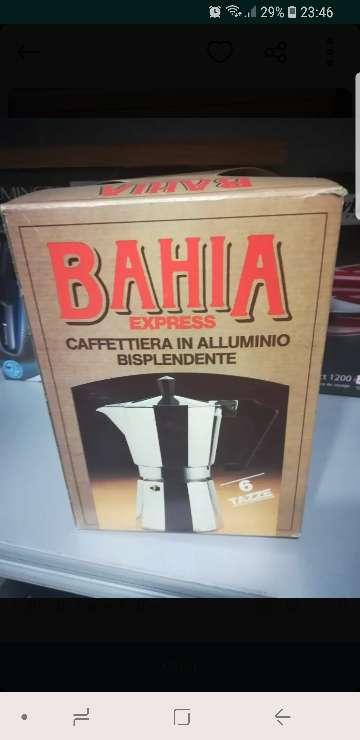 Imagen producto Cafetera aluminio BAHIA 1