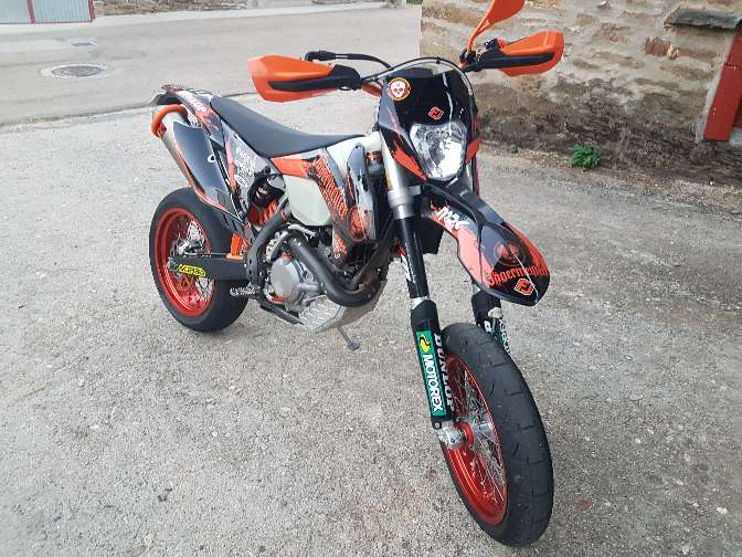 Imagen KTM 450exc del 2015