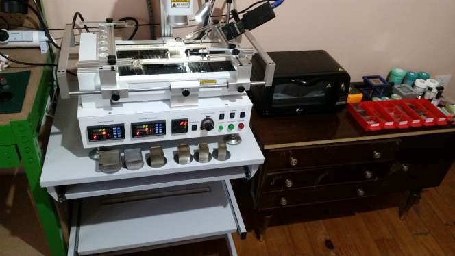 Imagen producto Máquina de reballing Honton HT-R390 2