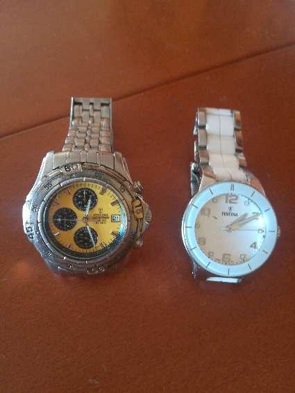 Imagen 2 relojes Festina hombre y mujer