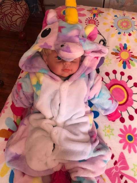Imagen producto Pijama mini Unicornio  2
