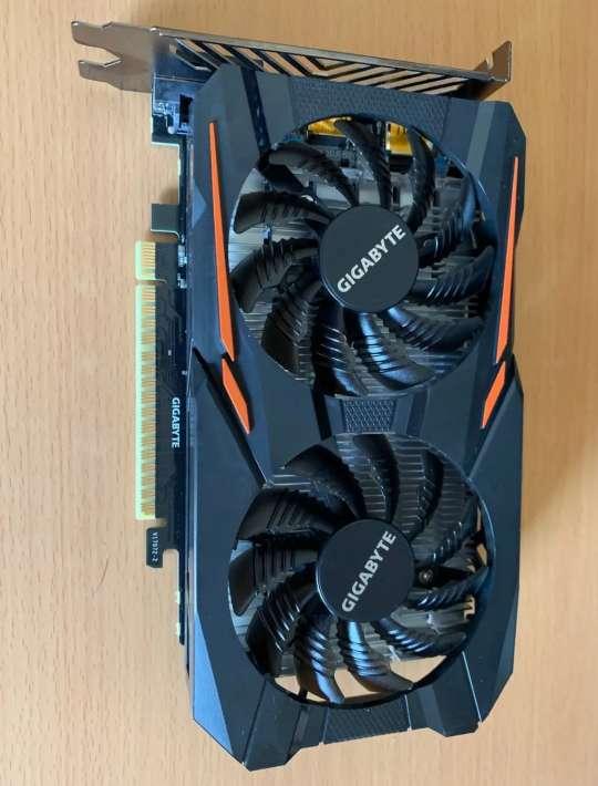 Imagen Nvidia GTX1050 OC 2GB