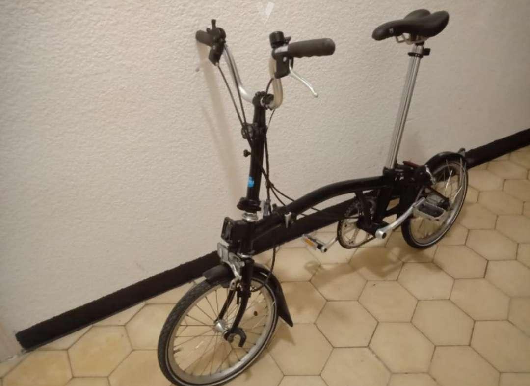 Imagen producto Bicicleta plegable BROMPTON M3L 2