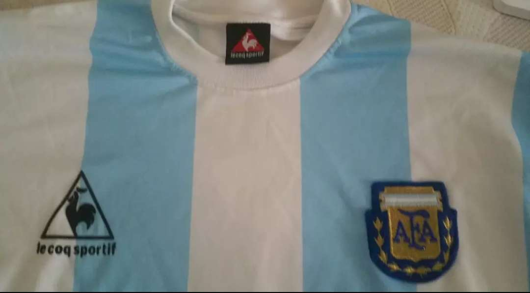 Imagen producto Camiseta Argentina Maradona México-86 3
