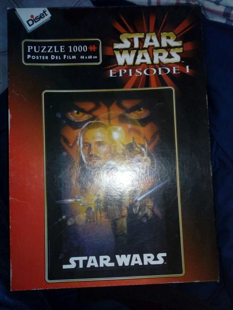 Imagen producto Puzzle star Wars 1