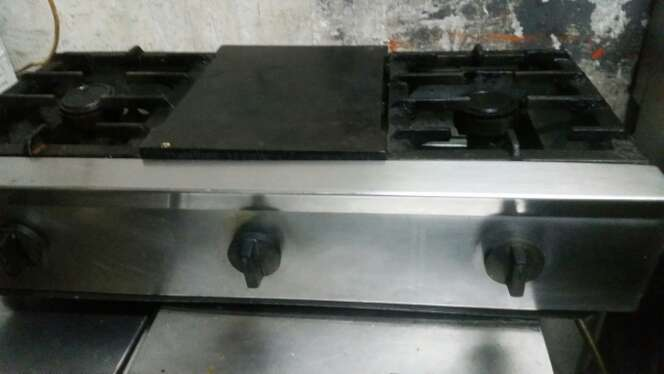 Imagen cocina industrial a gas