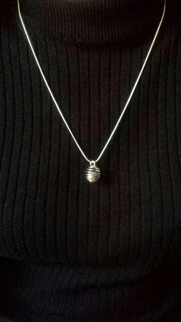 Imagen producto Joyería meteorito y plata a elegir  4