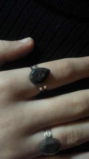 Imagen anillos exclusivos de polvo meteorito