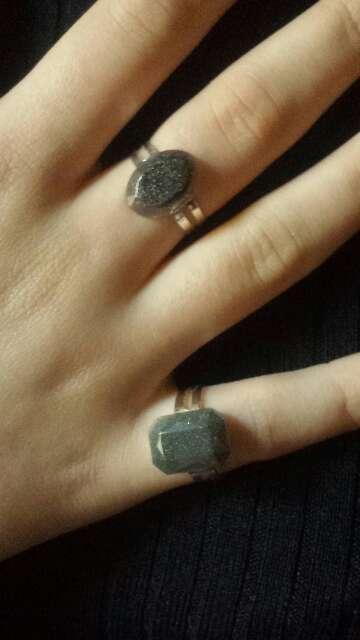 Imagen producto Anillos exclusivos de polvo meteorito  8