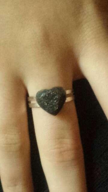 Imagen producto Anillos exclusivos de polvo meteorito  9
