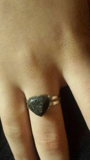 Imagen producto Anillos exclusivos de polvo meteorito  10