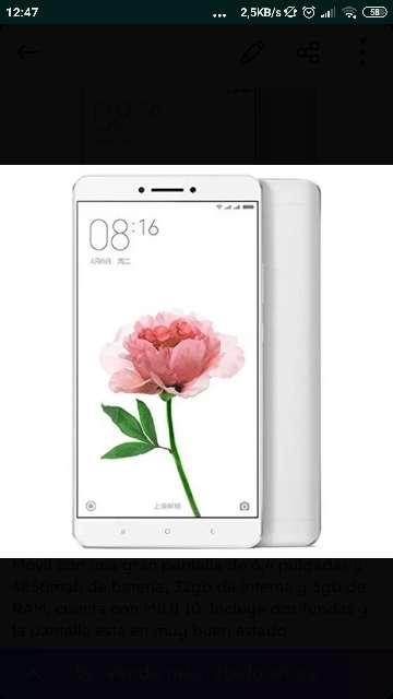 Imagen Xiaomi Mi Max 32gb