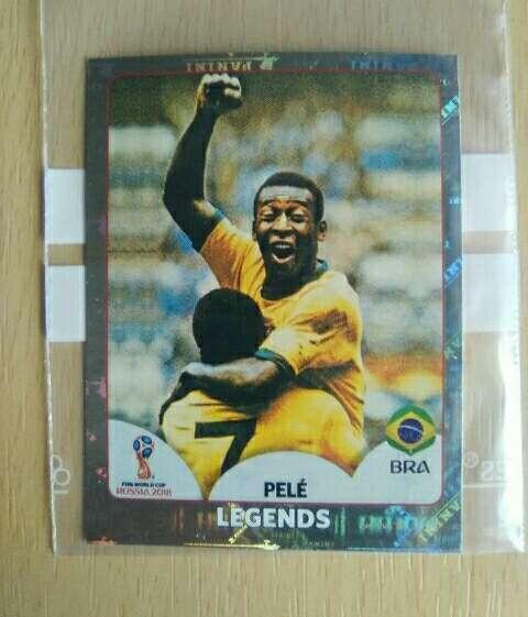 Imagen Pelé card mundial 2018.