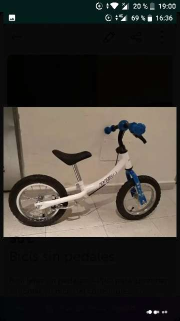 Imagen producto Bici sin pedales 1